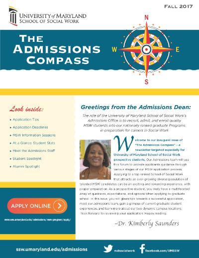 Fall 2017 Admissions Newsletter Image
