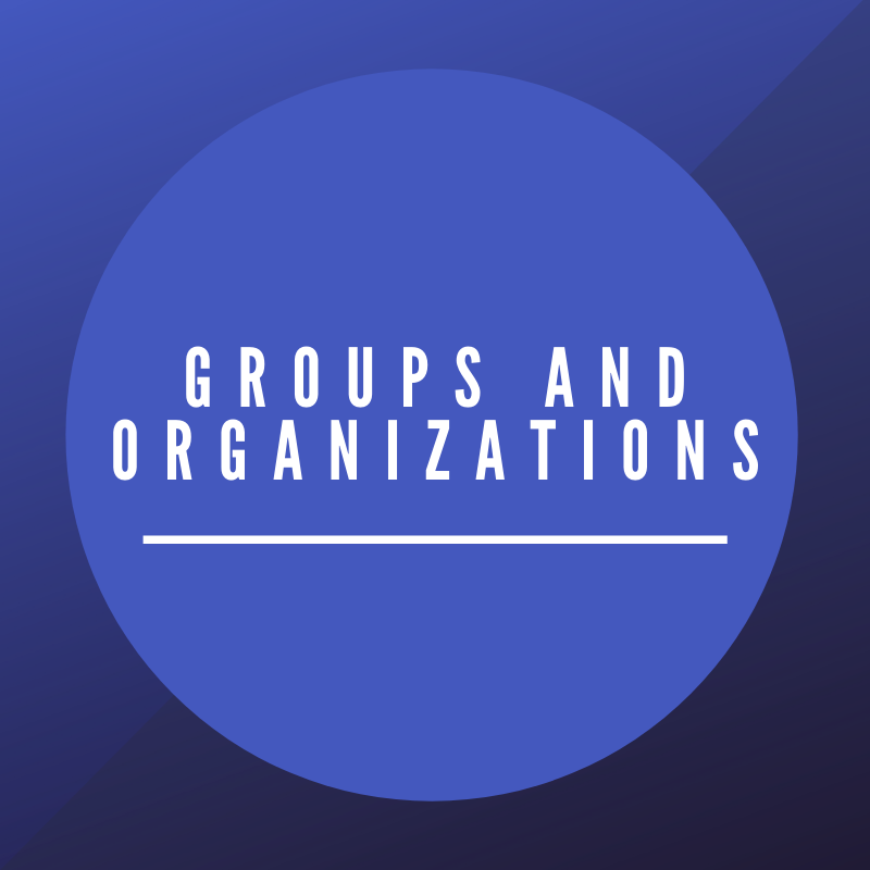 Groups and Organizations at SSW