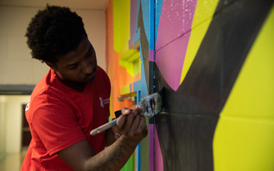 Inspiring Students to Paint Their Own Futures