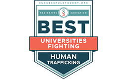 UMB SSW Listed Among Best Universities Addressing Human Trafficking